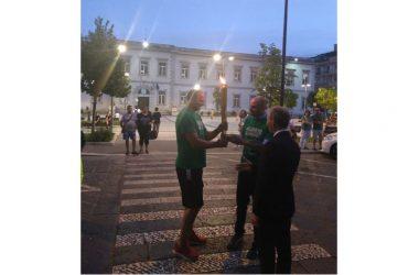 COMUNE DI SANTA MARIA A VICO: Inaugurata l'Estate dello sport: Nando Gentile accende il tripode. Il sindaco Pirozzi: «Estate per i giovani e tutta la cittadinanza»