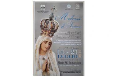 Maddaloni, ecco i relatori delle catechesi durante permanenza dell'effige della Madonna di Fatima