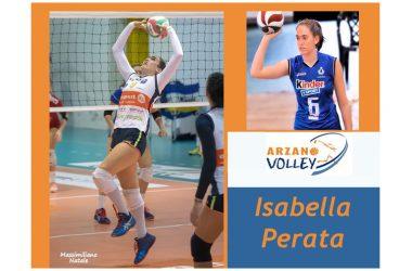 Colpo grosso: Isabella Perata, nuova regista dell'Arzano Volley