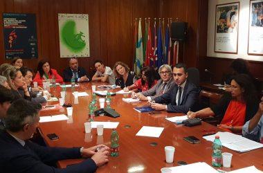 Cancello ed Arnone: Il sindaco Ambrosca prende parte all'incontro con il Ministro Di Maio sulla vertenza Apu in Campania.