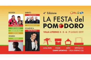 Grande successo a Villa Literno per la prima serata della quarta edizione della Festa del Pomodoro, promossa dall'associazione Oro Rosso: oltre 2500 gli spettatori della serata