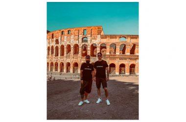 """""""The Git up Challenge"""" sbarca in Italia: due influencers  emergenti girano video al cospetto del Colosseo"""