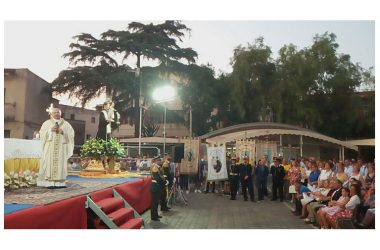 Brusciano Iniziata Antoniana Festa dei Gigli – Fede e Legalità