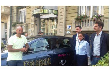 """Esplanade – Primo hotel in Versilia con la navetta """"elettrica"""""""