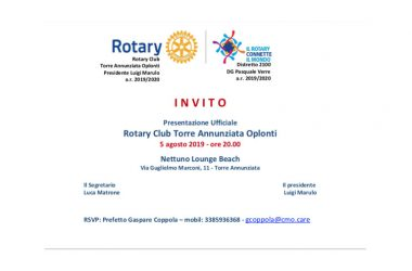 Invito presentazione Rotary Oplonti
