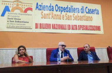 Azienda ospedaliera «Sant'Anna e San Sebastiano» di Caserta, il saluto del direttore Ferrante
