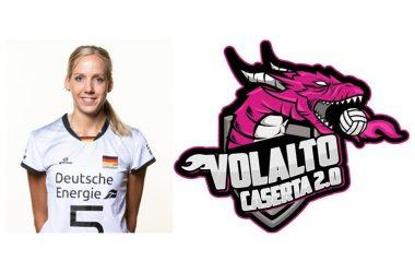 In casa Volalto 2.0 Caserta arriva direttamente dalla Germania una giocatrice possente dal braccio di fuoco, Jana Franciska Poll