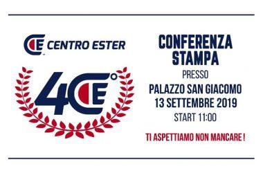 Il Centro Ester compie 40 anni: venerdì conferenza stampa a Palazzo San Giacomo
