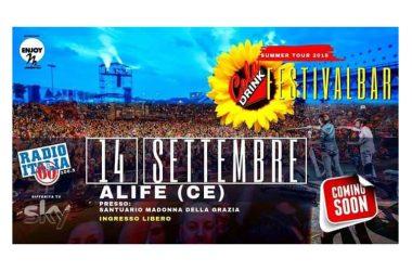 Cola Drink Festivalbar 2019: premio alla carriera a Gigi Finizio il 14 settembre ad Alife (CE)