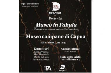 """Giornate Europee del Patrimonio 2019: arriva l'evento """"Museo in Fabula"""" al Museo Campano di Capua"""