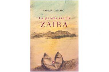 """Amalia Capasso presenta il suo libro """"La promessa di Zaira"""" edito dalla casa editrice Kimerik"""