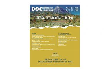 """Lunedì a Napoli il convegno """"Terra – Tecnologia – Turismo"""""""