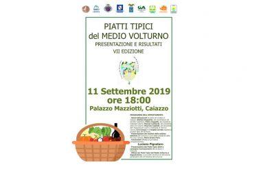 Pro Loco Caiazzo – Cerimonia conclusiva VII edizione Piatti Tpici del Medio Volturno
