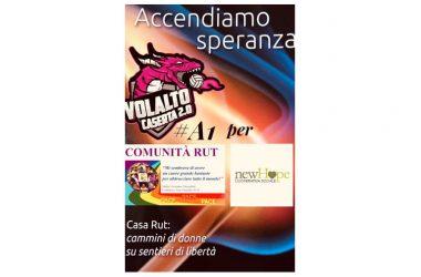 Domenica, al Golden Tulip Plaza Caserta, la presentazione ufficiale della squadra VolAlto 2.0 Caserta