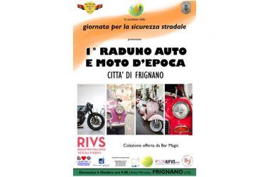Raduno auto e moto a Frignano: in area mercato un grande evento nel segno della sicurezza stradale