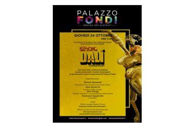 """Invito – mostra """"Branding Dalí"""" – 24.10.2019 ore 11 Palazzo Fondi (Napoli)"""