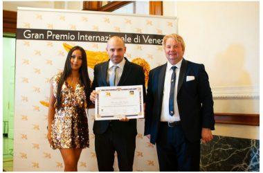 Francesco Di Ceglie porta Caserta in nomination a Venezia