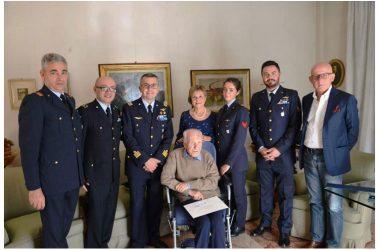 Caserta: l'Aeronautica Militare festeggia i 105 anni del Generale Van Den Hende
