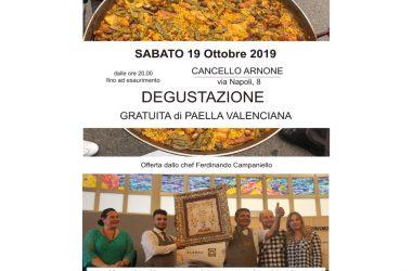 Cancello ed Arnone: domani 19/10 degustazione gratuita della miglior paella valenciana al di fuori del territorio spagnolo.