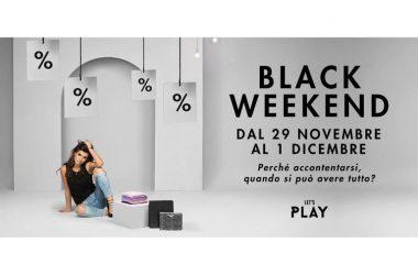 'Black week end' sconti eccezionali al Campania fino al 1 dicembre