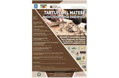 Tartufi del Matese, valorizzazione della biodiversità: oggi al Parco Regionale del Matese. Ospite l'Onorevole Nicola Caputo