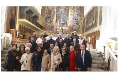 I COMPONENTI DELL'ORDINE FRANCESCANO SECOLARE DI CAPUA ,RINNOVANO LA PROMESSA DI EVANGELIZZAZIONE.