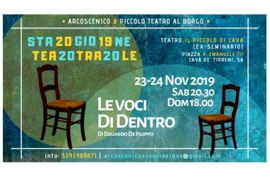 Piccolo Teatro al Borgo – Stagione Teatrale Cava de' Tirreni