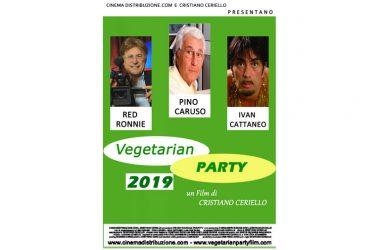 """Torna il Film """"Vegetarian Party"""", in versioneintegrale 2019, con Pino Caruso, Red Ronnie, Ivan Cattaneo, in Concorso al 73°Festival Internazionale del Cinema di Salerno"""