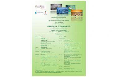 """Giornata di studi """"Ambiente e Informazione"""""""