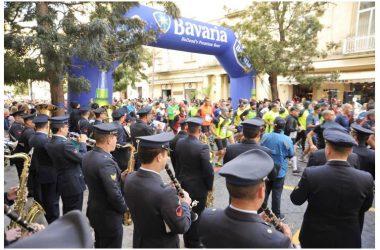 Anche la fanfara del Comando Scuole dell'Aeronautica Militare/3^ Regione Aerea alla Mezza Maratona Internazionale della città di Caserta