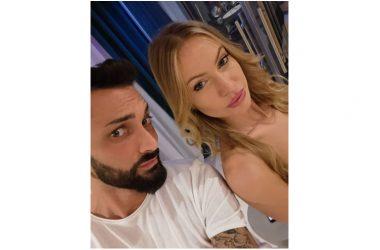 Sebastiano Montella hair stylist di Taylor Mega in occasione del suo compleanno