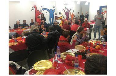 Pranzo di Natale a Casa L'AURA Onlus.