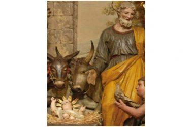 L'asino e il bue nel presepe San Francesco li volle a Greccio