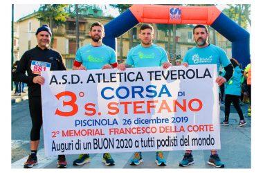 2° Memorial Francesco Della Corte: Atletica Teverola presente alla corsa di Santo Stefano di Piscinola