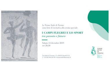 """""""I Campi Flegrei e lo sport tra passato e futuro"""" alle Terme Stufe di Nerone"""