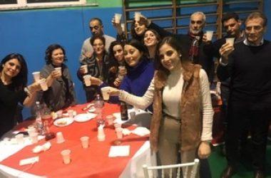 Cancello ed Arnone: venerdì 27 dicembre si é tenuta la cena di fine anno. Una cena conviviale e tanta voglia di fare comunità.