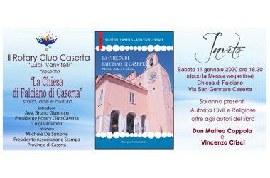 """Caserta, """"la chiesa di Falciano di Caserta"""" si presenta sabato 11 gennaio 2020 alle 18.30"""
