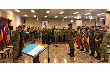Il Lt.C. Topper Jr. è subentrato al Lt.C. Dooley durante la cerimonia presieduta dal CAPT Smith GRAZZANISE: CAMBIO AL COMANDO DEL 2° BATTAGLIONE NATO