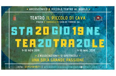Comunicato Arcoscenico-Stagione Teatrale Cava de' Tirreni