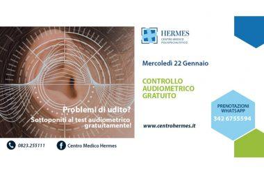 CENTRO HERMES – SECONDO OPEN DAY SU PROBLEMI DELL'UDITO