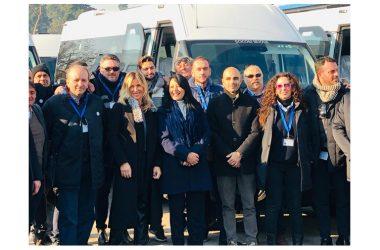 ASSESSORE PALMERI – cerimonia di consegna di 10 autobus regionali a Piedimonte Matese