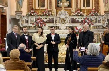 """Cancello ed Arnone: grande successo per il """"Concerto di inizio anno""""."""