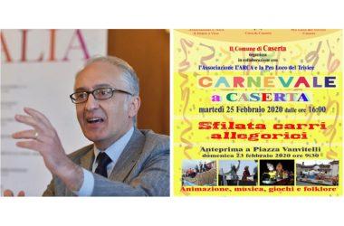 IL CORONAVIRUS FERMA  ANCHE IL CARNEVALE DI CASERTA
