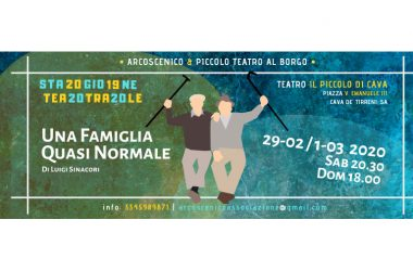 Arcoscenico-stagione teatrale CAVA DE' TIRRENI