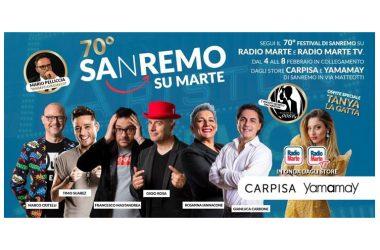 70° Festival di Sanremo: Radio Marte grande protagonista