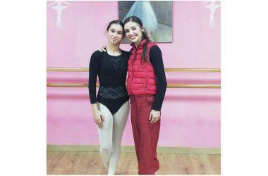 La giovane caudina Lorenza Compare incontra Claudia D'Antonio, prima ballerina del Teatro San Carlo di Napoli