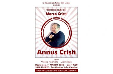 Beneficenza con Marco Cristi di Made in sud