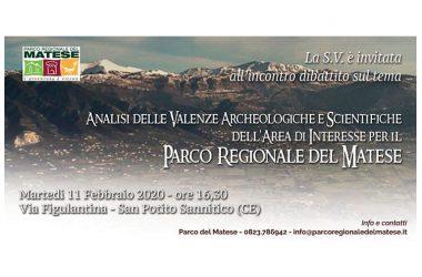 """Il patrimonio archeologico del Parco del Matese protagonista l'11 febbraio. Girfatti: """"per la prima volta nella storia del Parco si parla di archeologia"""""""