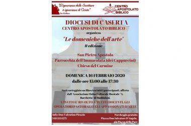 """Maddaloni, riprendono le """"Domeniche dell'Arte"""" a Maddaloni domenica 16 febbraio"""