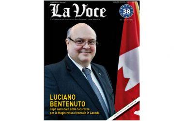 Luciano Bentenuto Ambasciatore d'Abruzzo nel mondo – Il 14 gennaio scorso ad Ottawa è stato anche eletto alla presidenza CIBPA